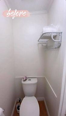 DIY Toilet Shelves: Before & After