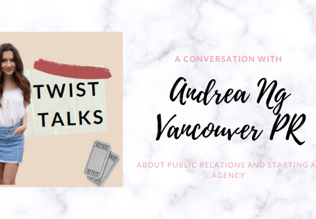 Podcast: Vancouver PR Girl Talks About PR and Starting a Company