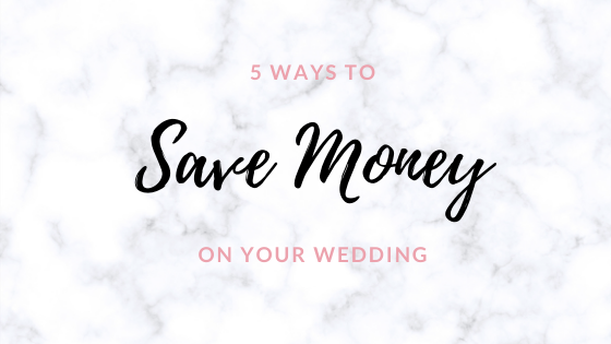 4 Ways to Save Money on Your Wedding