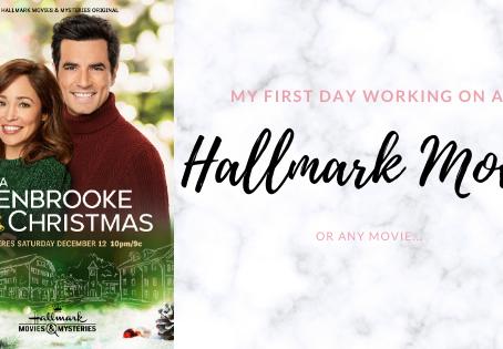 My 1st Day Working on a Hallmark: BTS A Glenbrooke Christmas