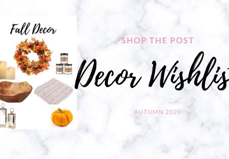 Fall Decor Wishlist