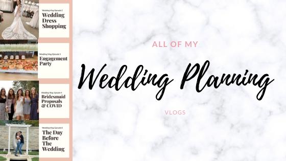 Wedding Planning Vlogs