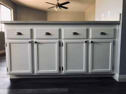 After Cabinet Resurfacing