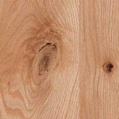 Rustic Knotty Red Oak