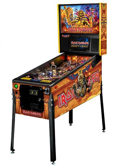 Пинбол Iron Maiden Legacy of the Beast Premium Pinball