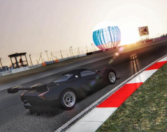 Разработка модели автомобиля Marussia gt