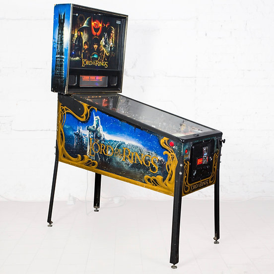 "Пинбол Б\У ""Властелин колец"" Lord of the Rings (LOTR) Pinball"