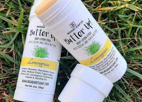 Butter Up! Lemongrass Lotion Bar