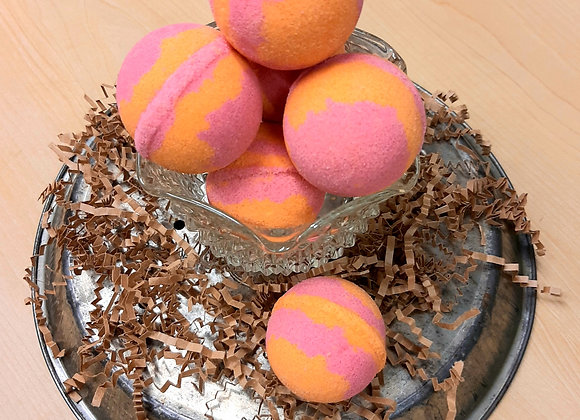 Orange Cranberry Bath Bomb