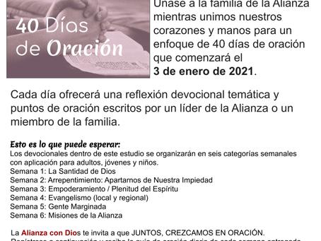 40 Dias de Oracion 2021