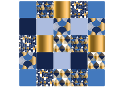 Gabarits niv 3 - Format A3 - Rêve Bleu - Amalgames