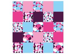 Gabarits niv 3 - Format A3 - Moco Art Fushia - Amalgames