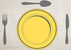 Gabarits Mise en place de la Table - Classique avec fond en tissu - Pasapas - Amalgames (5