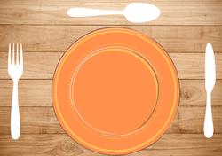 Gabarits Mise en place de la Table - Classique avec fond en tissu - Pasapas - Amalgames