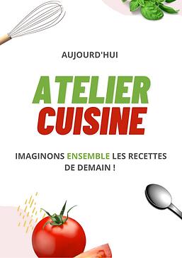 Affiche - Atelier Cuisine - Amalgames.pn