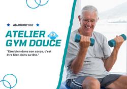Affiche Atelier Gym Douce