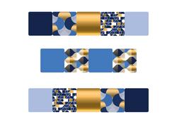 Gabarits niv 2 - Format A3 - Moco Rêve Bleu - Amalgames