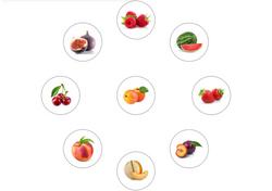 Gabarit A3 - Fruits d'Eté - Puzzle de la Réussite - Amalgames