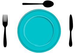 Gabarits Mise en place de la Table - Classique avec fond en tissu - Pasapas - Amalgames (6