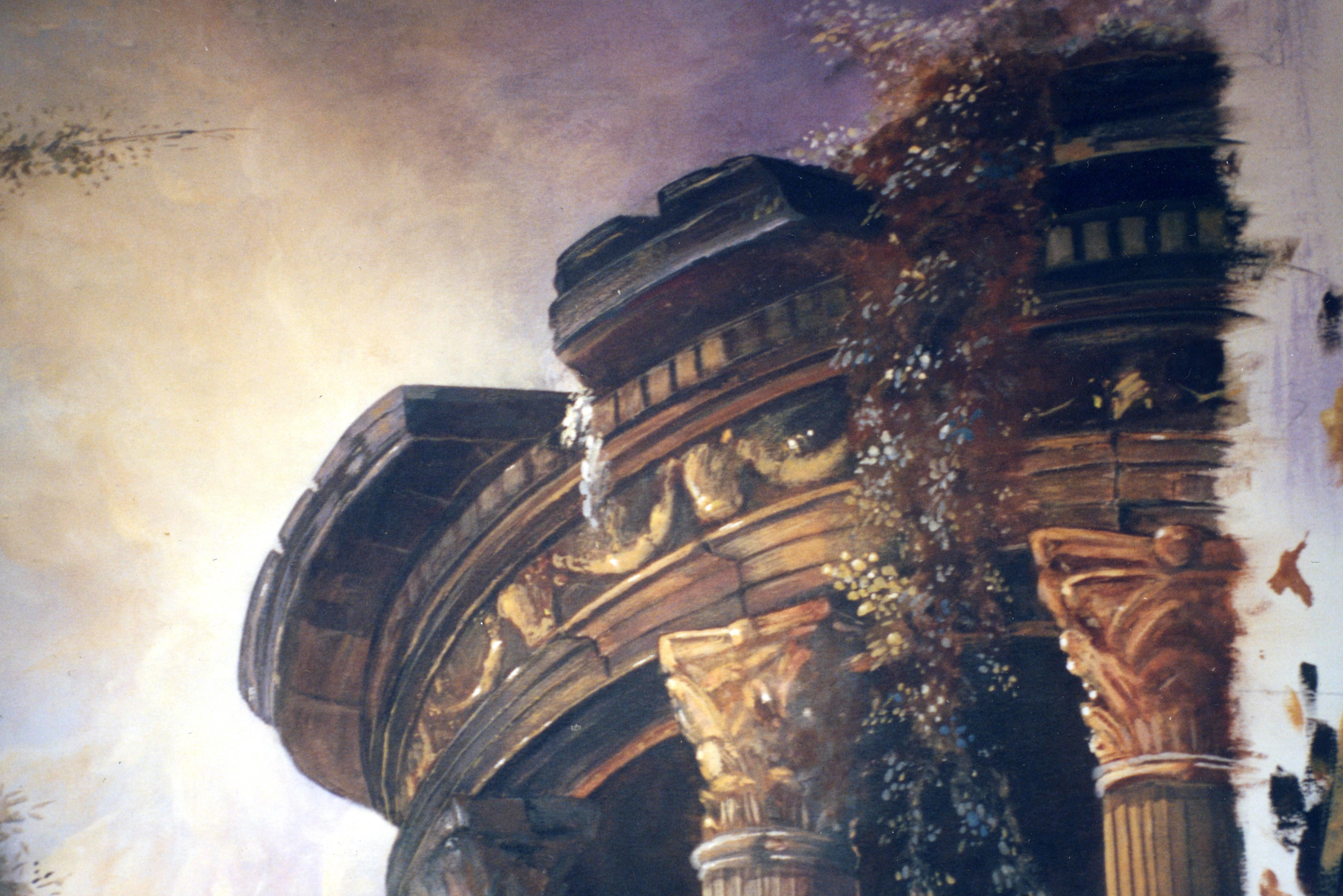Peintre en décors Décor sur toile