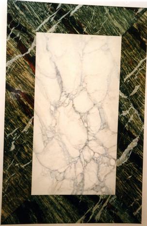 Panneau décoratif de faux marbres