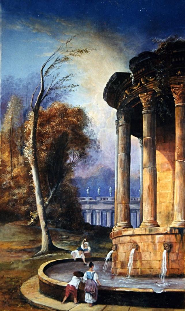 Peintre en décors Toile peinte val de Marne