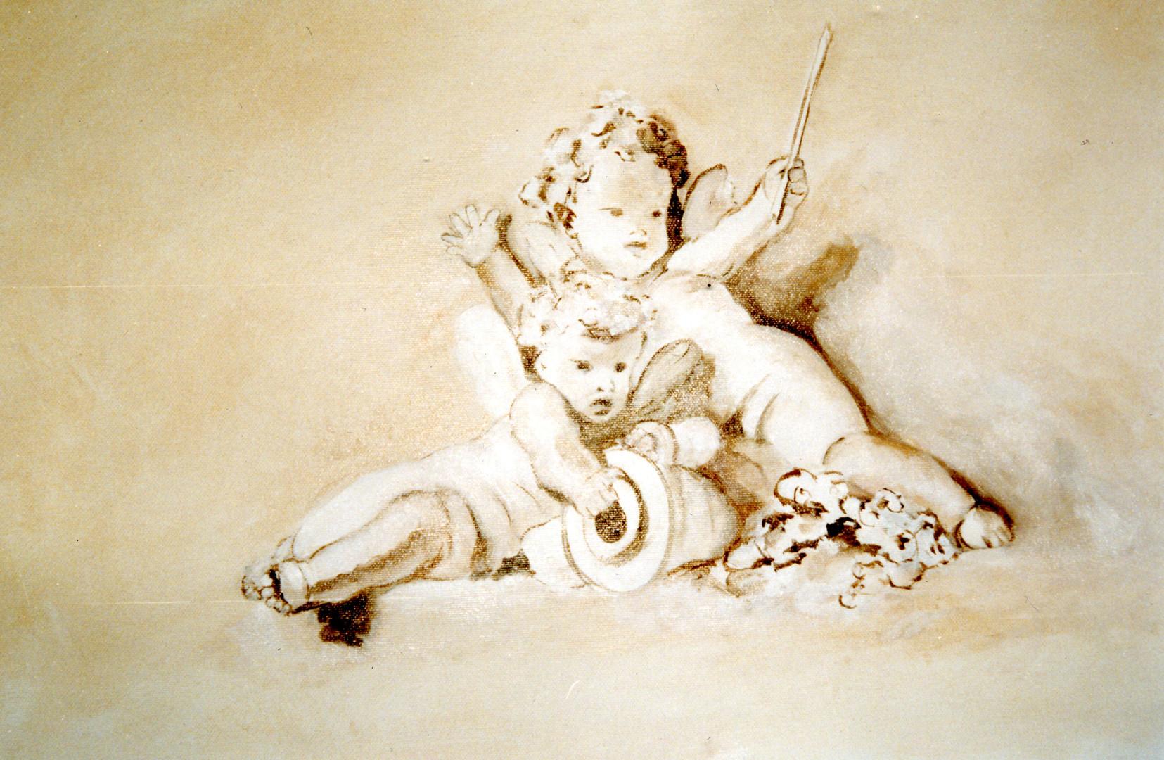 Peintre en décors Décor sur toile Val de Marne