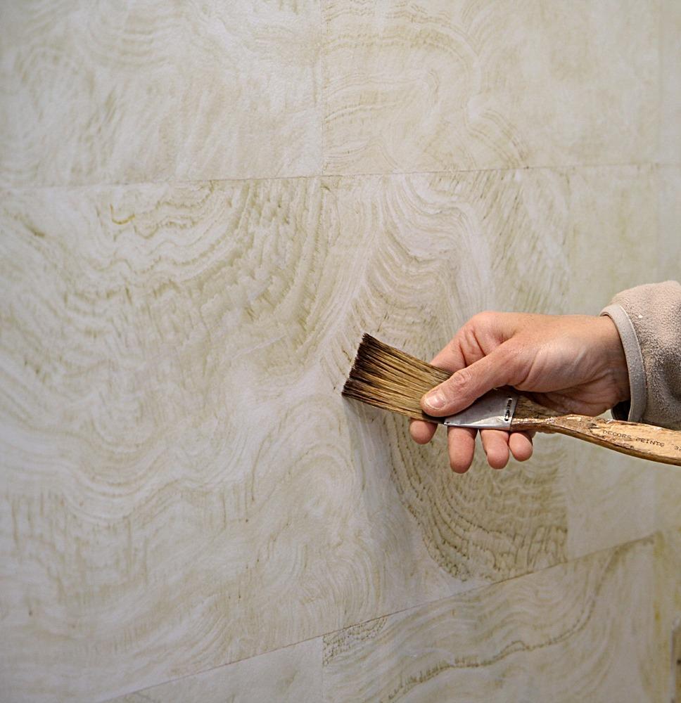 Peintre en décors Onyx beige