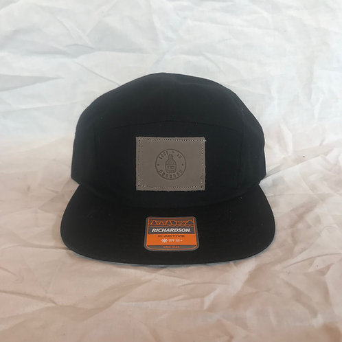 5-Panel Black Hat