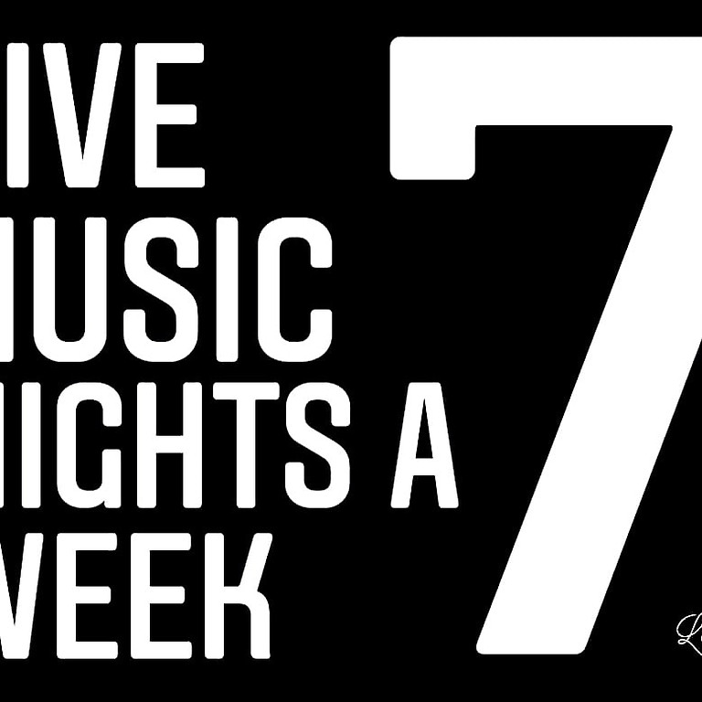 Live Music is Back @ The Luna 7 days a week