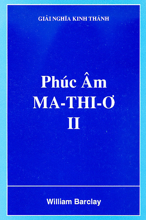 W.B. Phúc Âm Ma-thi-ơ II