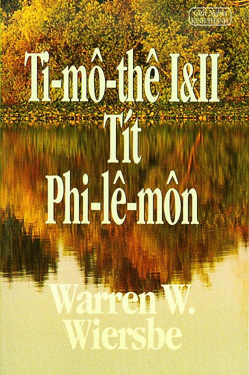 W.W. Ti-mô-thê I&II, Tít, Phi-lê-môn