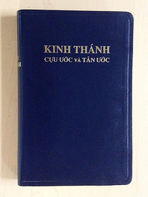 Kinh Thánh Cựu Ước và Tân Ước (Blue Leather)