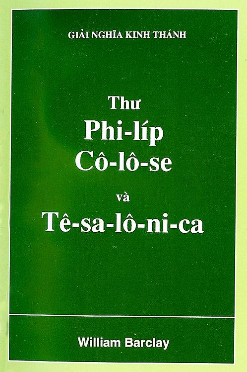 W.B. Thư Phi-líp, Cô-lô-se và Tê-sa-lô-ni-ca