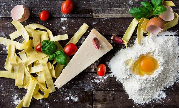 Het maken van Pasta