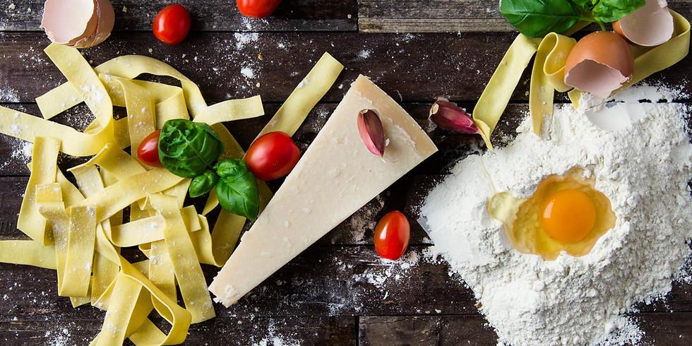 Italiaanse keuken workshop zonag 5 april