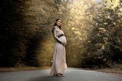 Portrait de grossesse de Constance