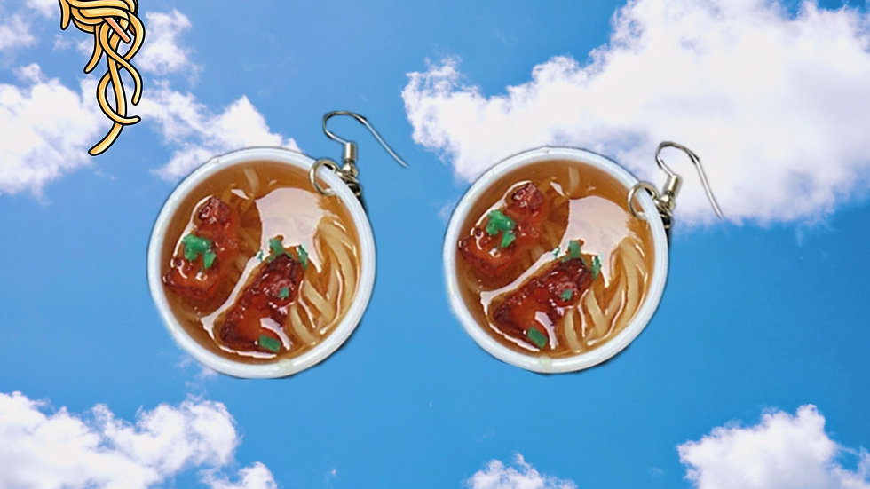 RAMEN SHOP EARRINGS