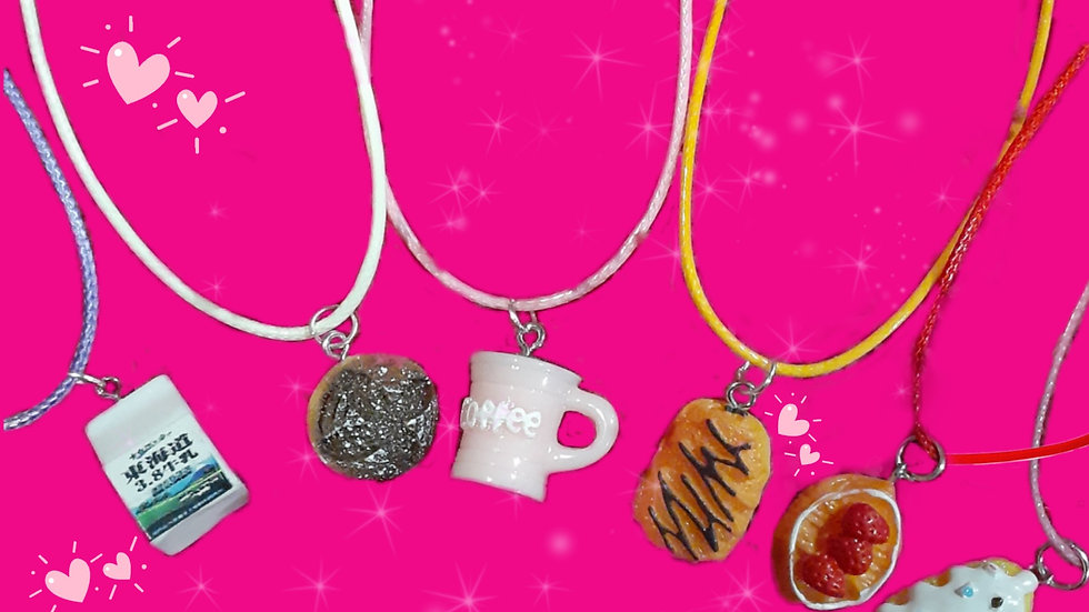 Café Cuties Necklaces
