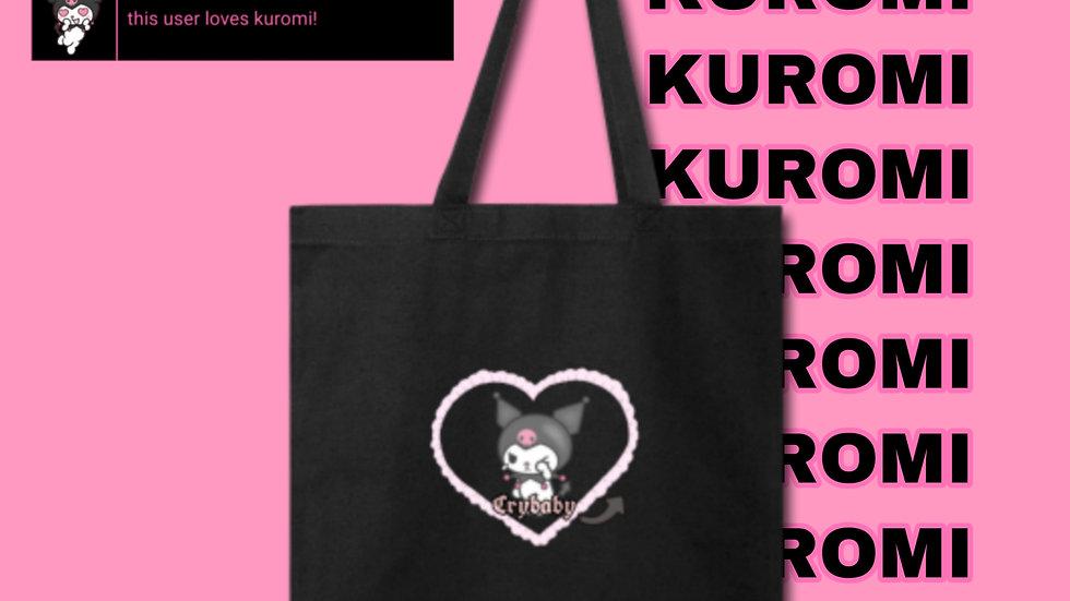 CRYBABY KUROMI TOTE