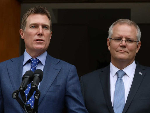 Christian Porter cannot become Morrison's scapegoat