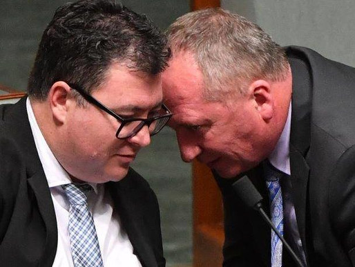Don't poke the bear that is George Christensen