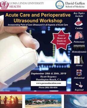 2019 Acute Care POCUS Workshop