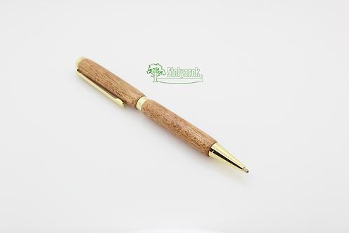 Ручка шариковая Stolyarok Organic, махагон