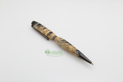 Ручка шариковая Stolyarok Stable, кап березы