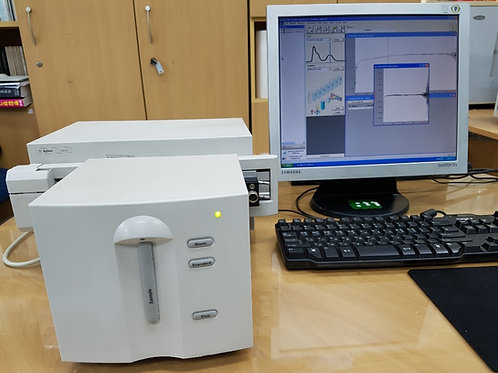 Agilent 8453 UV-Vis with multicell 8