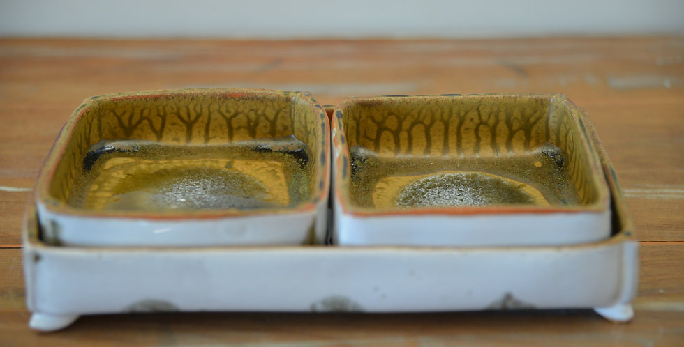Trio of Trays - Moss Pool