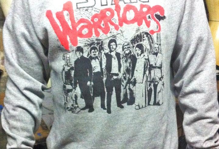 ONSALE!!! Unisex Star Warriors Crew Sweatshirt