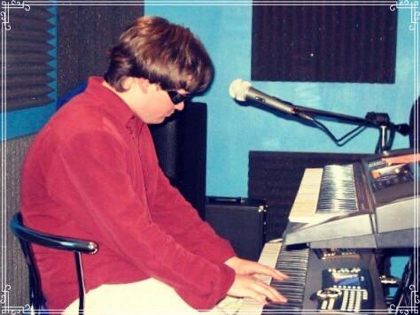 Gordon Sill at band practice on Nursery Ave, Mishawaka, Indiana, 2006