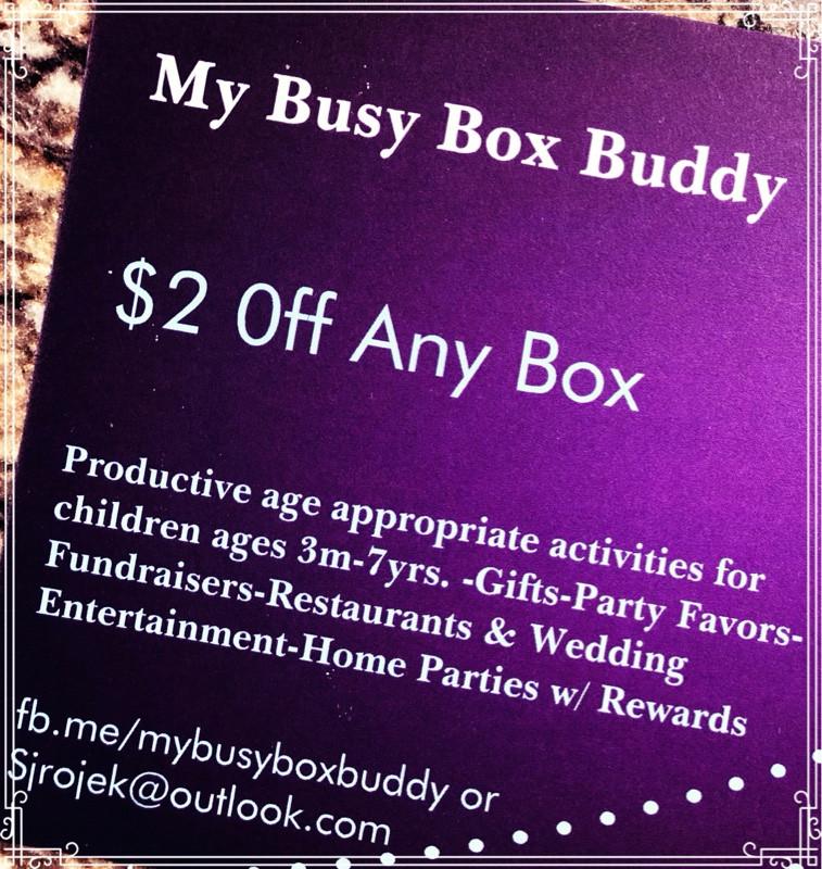 Busy Box Buddy